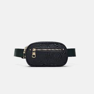 Zara oval belt bag new